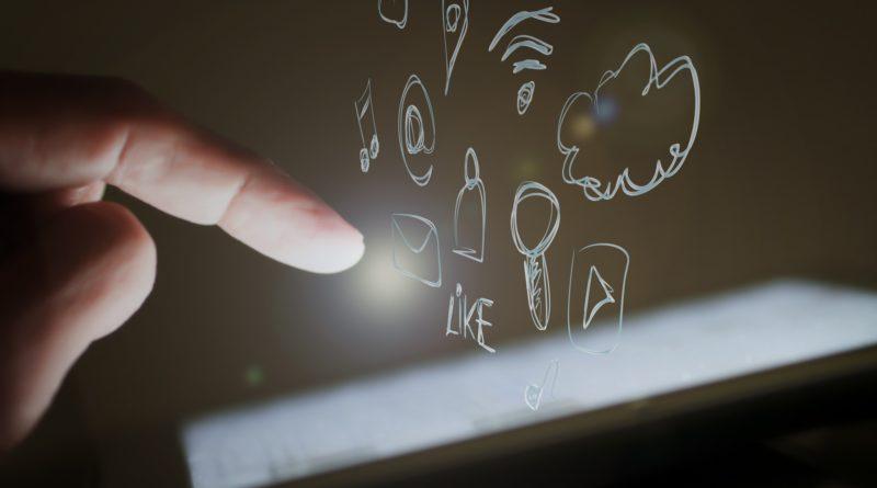touch screen palec ekran smartfon