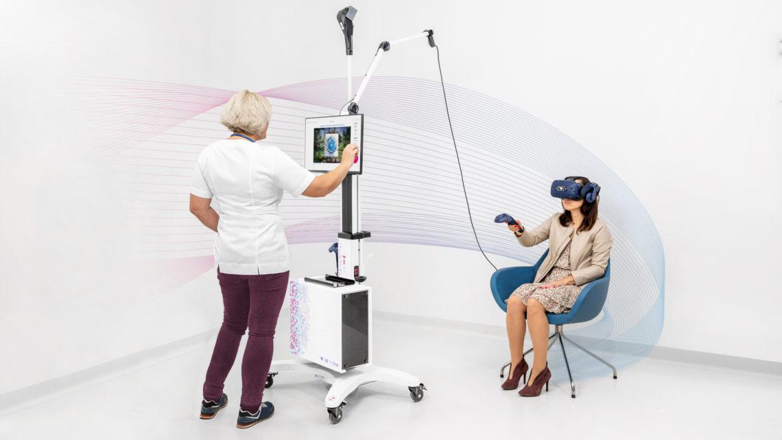 Wirtualna rzeczywistość VR TierOne wykorzystana wleczeniu depresji
