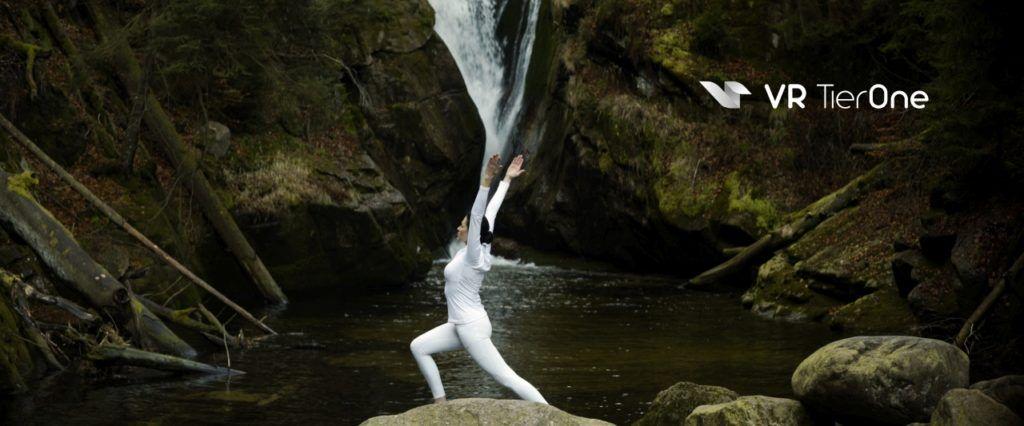 VR TierOne medytacja ićwiczenia nałonie przyrody