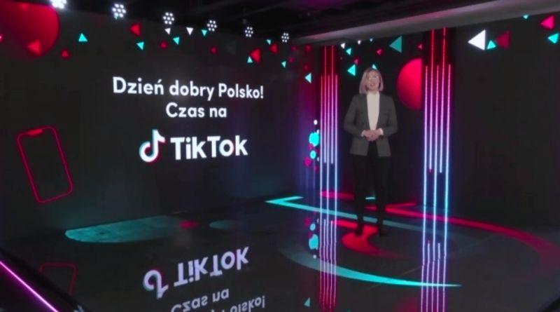 TikTok otwiera w Polsce oddział na Europę Centralną
