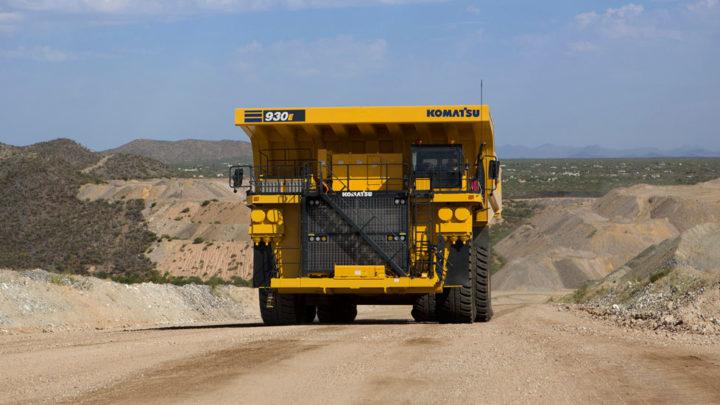 Komatsu przechodzi nawodór wnapędach wozideł dla kopalni