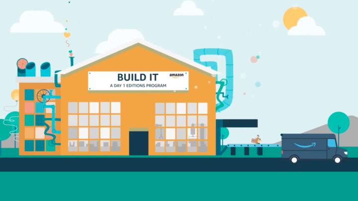 Amazon Build It wystartował wśrodę ijuż odniósł sukces