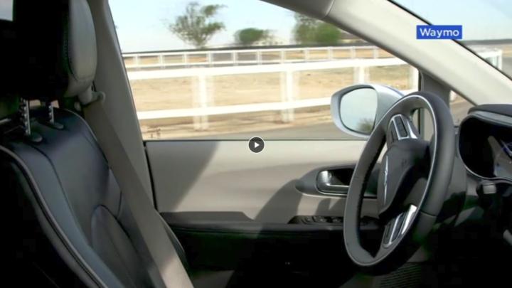 Autonomiczna taksówka Waymo One – zobaczcie jak wygląda jazda