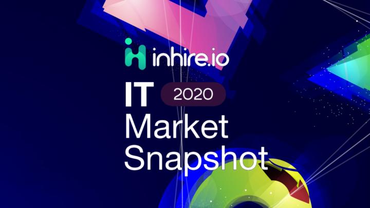 IT Market Snapshot 2020 – duży wzrost ofert rekrutacyjnych izarobków według raportu inhire.io