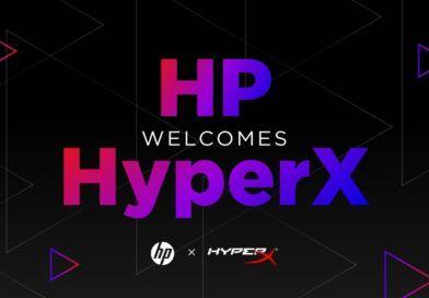 HP welcomes HyperX