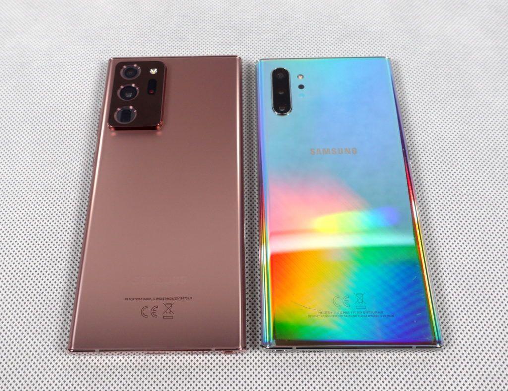 Samsung Galaxy Note20 Ultra 5G, Note10+ plecki