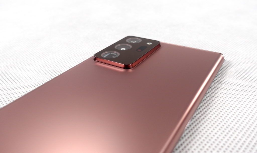 Note20 Ultra 5G aparaty foto