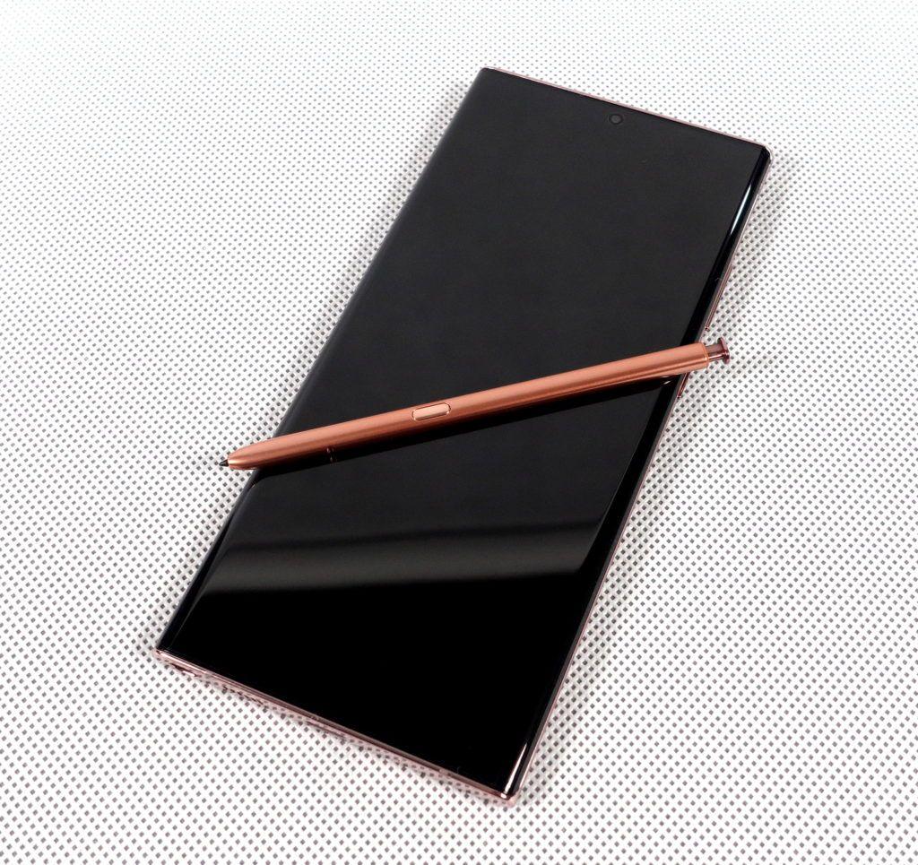 Note20 Ultra 5G rysik