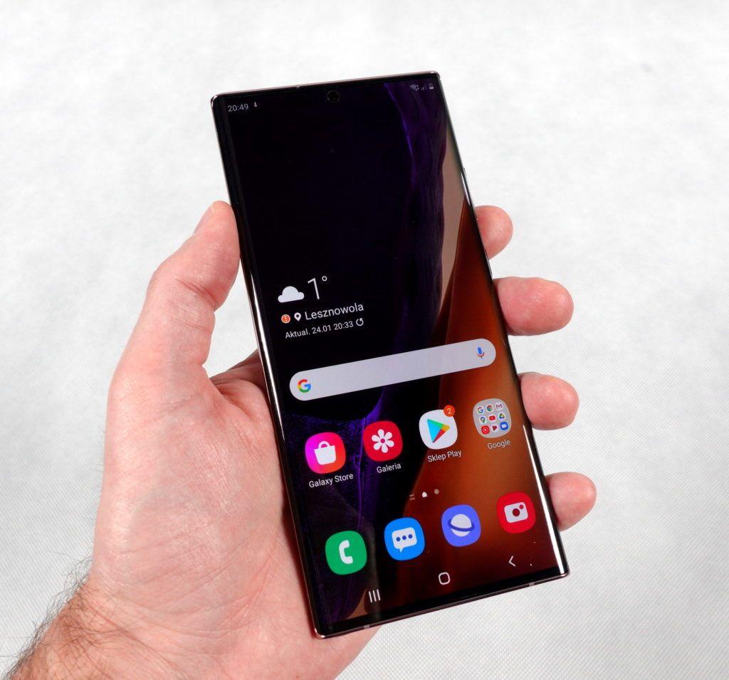 Samsung Galaxy Note20 Ultra 5G wdłoni