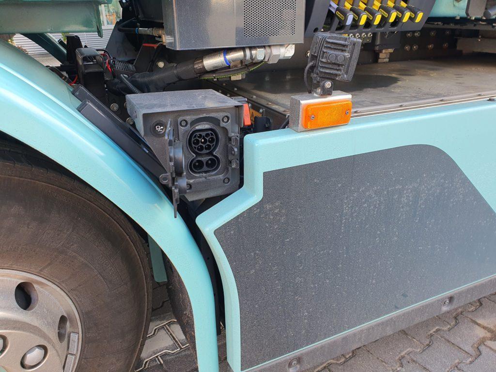 Volvo FE Electric gniazdo ładowania