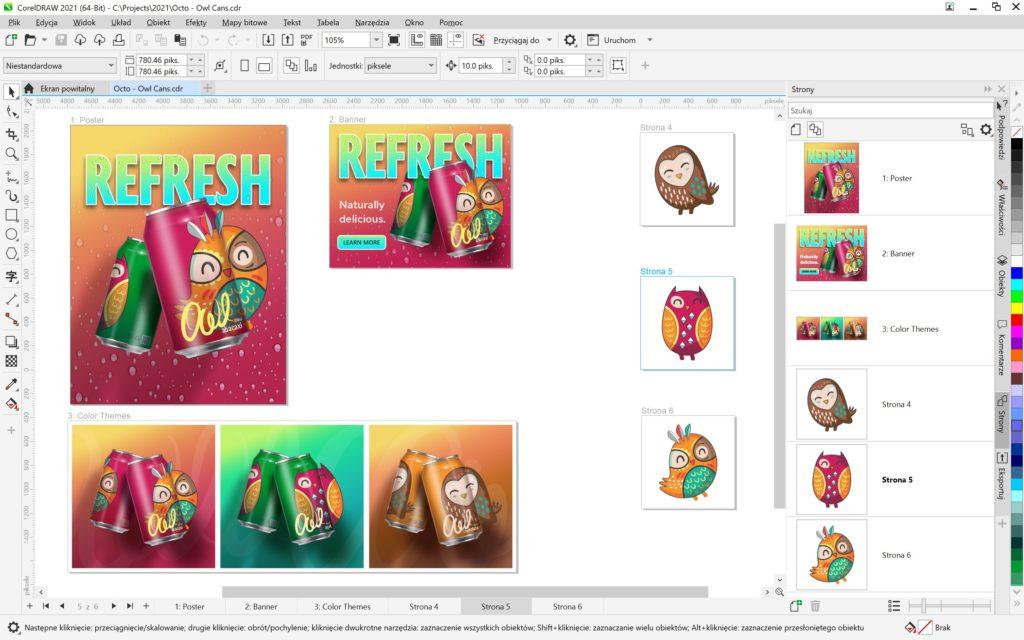 coreldraw-graphics-suite-2021-latwiejsza-wspolpraca-wieksza-wydajnosc-grafika – Multipage View_PL