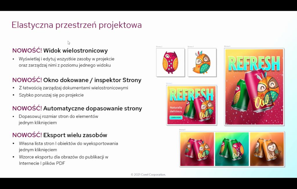 coreldraw-graphics-suite-2021-latwiejsza-wspolpraca-wieksza-wydajnosc-grafika - elastyczna