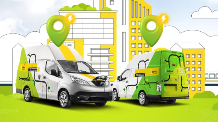 """Porozumienie """"Green City"""" – InPost postawi wŁodzi paczkomaty zładowarką aut elektrycznych"""