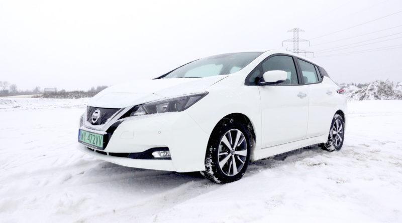 Nissan Leaf zima