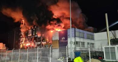 OVHcloud pożar