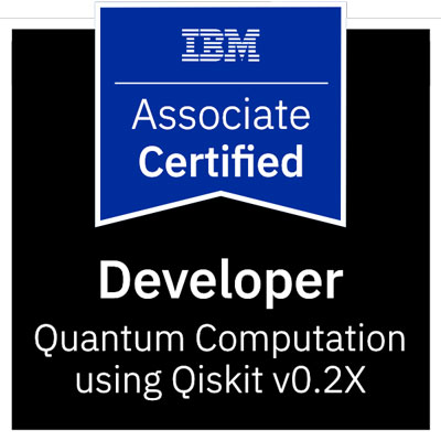certyfikat programisty kwantowego IBM-Certified-Associate-Developer-Quantum-Computation-using-Qiskit-v0.2X