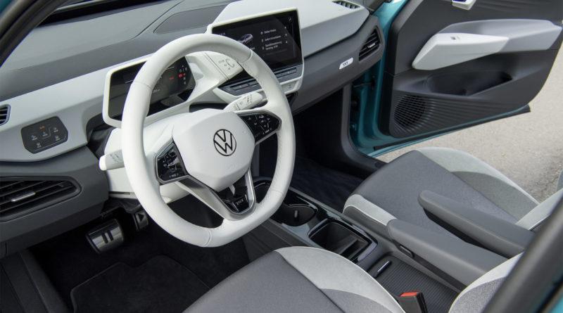 Volkswagen ID.3 wnętrze