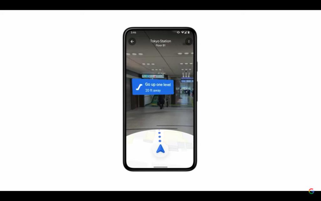 Google I/O Google Maps AR