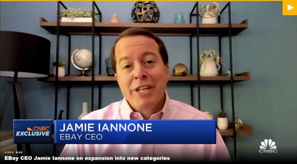 ebay-kryptowaluty-platnosc CNBC Jamie Iannone CEO