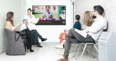 Samsung Business TV przychodnia