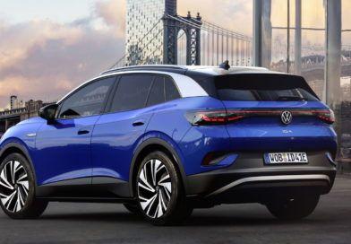 Volkswagen ID.4 tył stoi