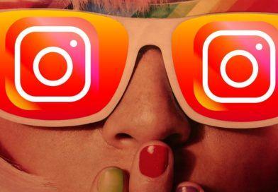 instagram dla dzieci dziewczyna kobieta okulary logo