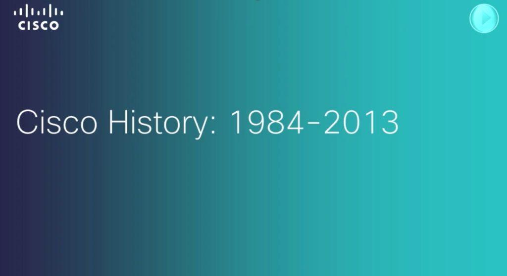 Cisco Historia firmy