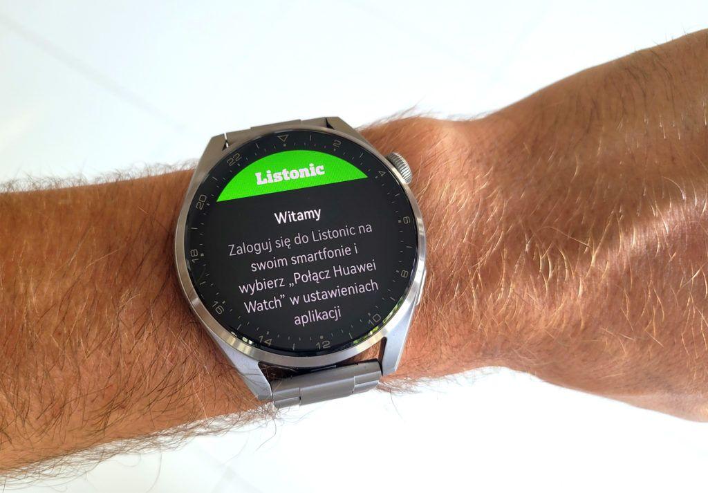 Huawei Watch 3 Pro Listonic