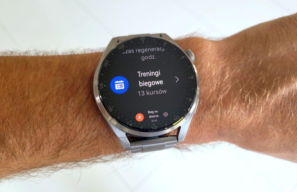 Huawei Watch 3 Pro kursy biegowe