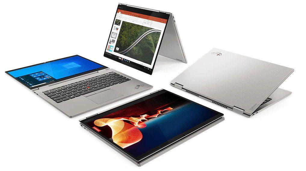 Lenovo ThinkPad X1 Titanium Yoga 4 tryby