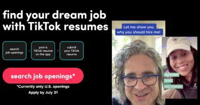 podanie o pracę TikTok