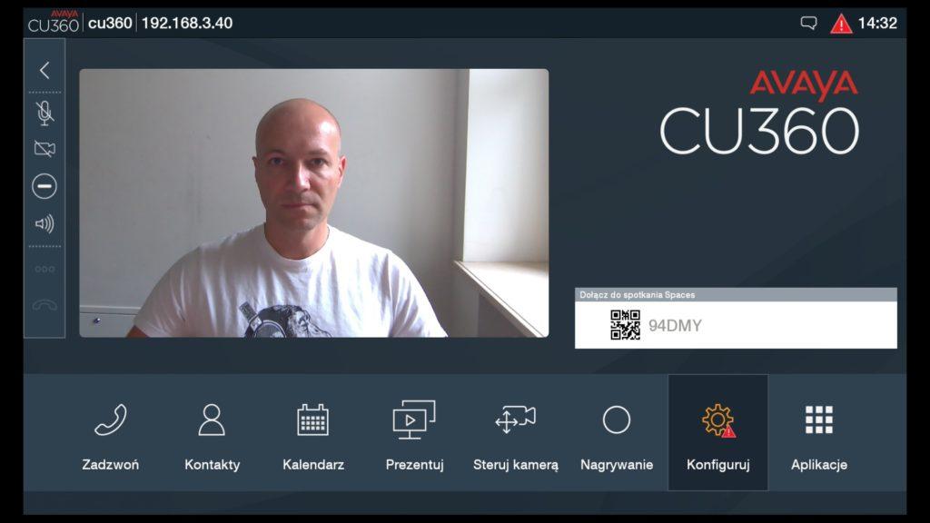 Avaya CU360 interfejs 1