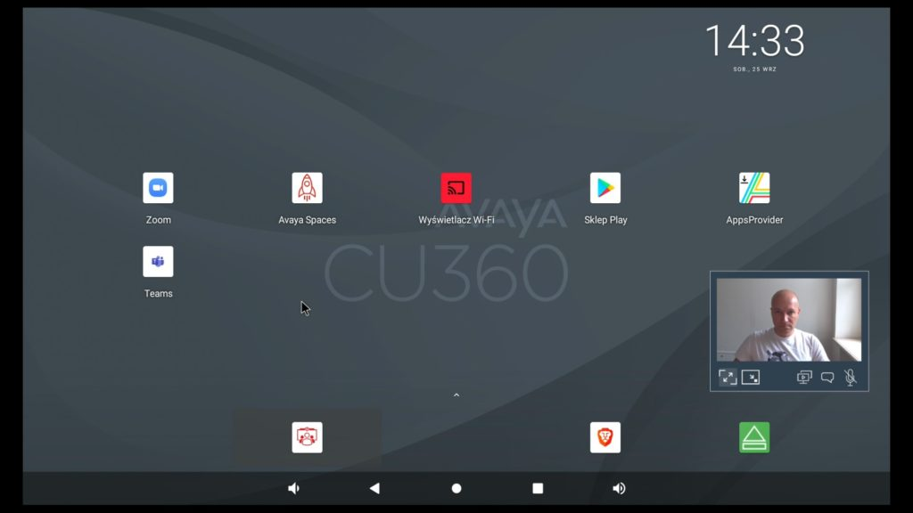 Avaya CU360 interfejs 2