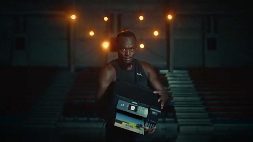 Usain Bolt Epson EcoTank drukarka