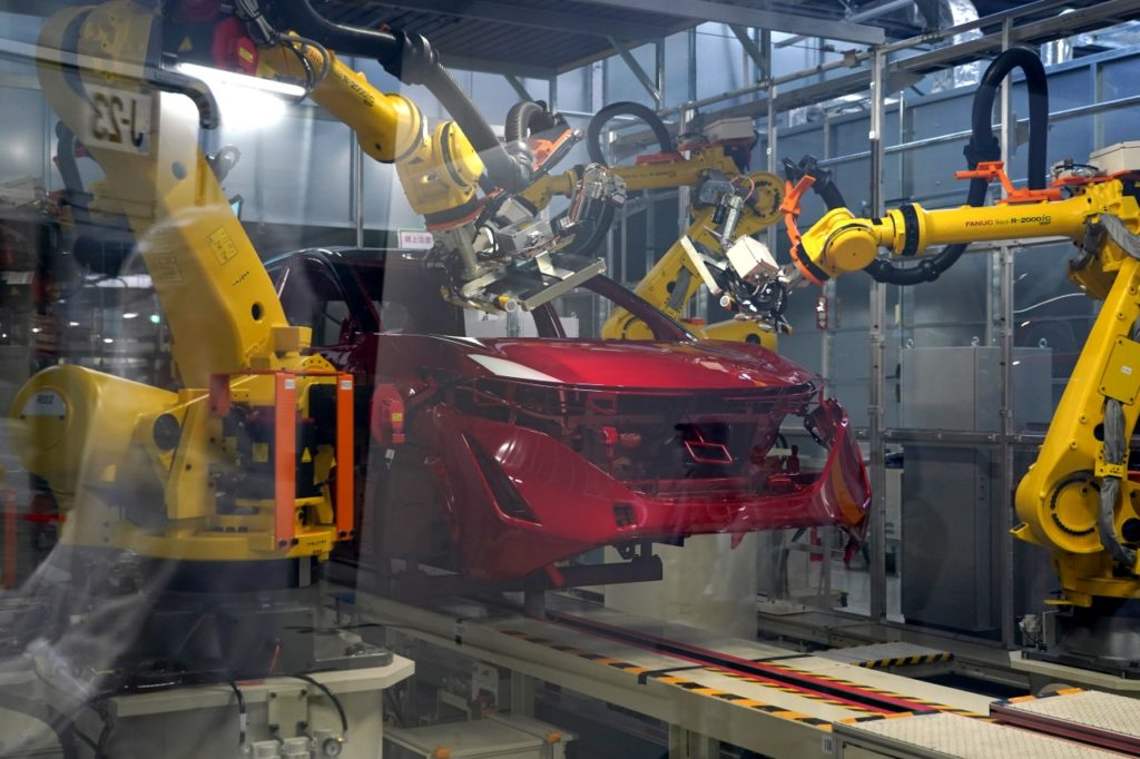 inteligentna fabryka nissana intelligent factory 07
