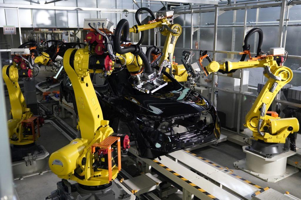 inteligentna fabryka nissana intelligent factory 27