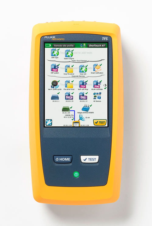 Fluke Networks OneTouch AT Network Assistant