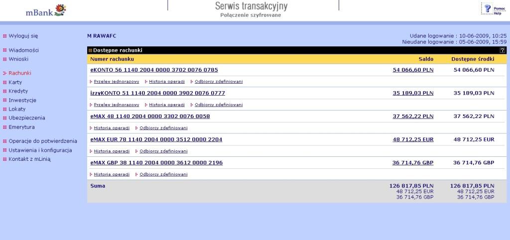 System transakcyjny mBanku w nowej odsłonie :: ITbiznes.pl